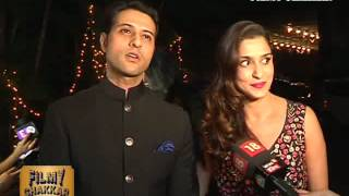 Apurva Agnihotri with Wife Shilpa At Kishwer Merchantt Reception Party | Bollywood 2016