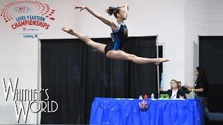 Whitney Bjerken | Level 9 Gymnastics Eastern Championships