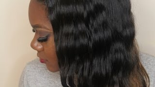 Virgin Malaysian Straight Y'all! Mini Install Video and Diora Hair Review!
