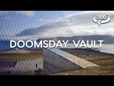 Inside The Arctic Doomsday Seed Vault For The First Time 360 Video