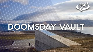 Inside The Arctic Doomsday Seed Vault For The First Time (360 Video)