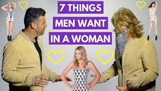 7 Proven Things Men Want in a Woman | Adam LoDolce