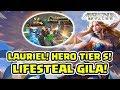 Download Video Hero Tier S! Lauriel Super Lifesteal! Super Amazing! - Arena of Valor AOV 3GP MP4 FLV