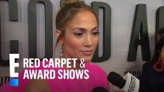 "Jennifer Lopez Explains Inspiration Behind Sia's ""Limitless"" Song | E! Red Carpet & Award Shows"