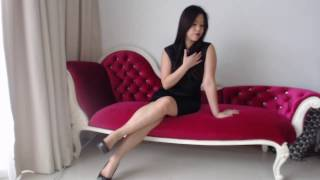 Asian Femdom Mistress Bare Feet High Heels Worship