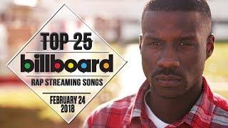 Top 25 • Billboard Rap Songs • February 24, 2018   Streaming-Charts