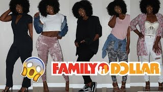 How to Style FAMILY DOLLAR Clothes!!!!