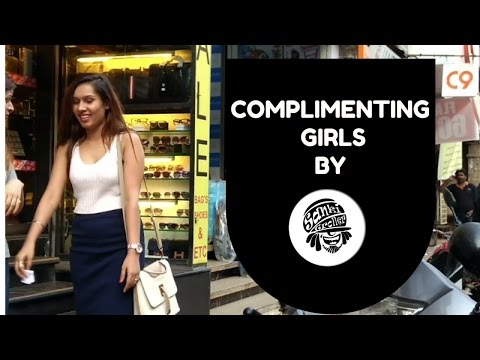 Complimenting Girls I Pranks In India by Sanki Trollers