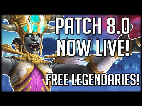 Xxx Mp4 Patch 8 0 IS NOW LIVE What Should You Do Also Free Legendaries WoW Battle For Azeroth 3gp Sex