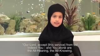 Haafiza Maariya Aslam - Only 7 Years Old