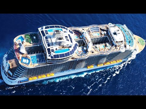 दुनिया का Second Largest Cruise Ship   Allure of the Seas