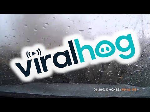 Russian tornado dashcam - Nice day