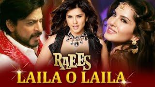 Sunny Leone's LAILA O LAILA Song To Be Out Soon - RAEES - Shahrukh Khan