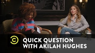 Quick Question with Akilah Hughes - F**k, Marry, Kill: Trump