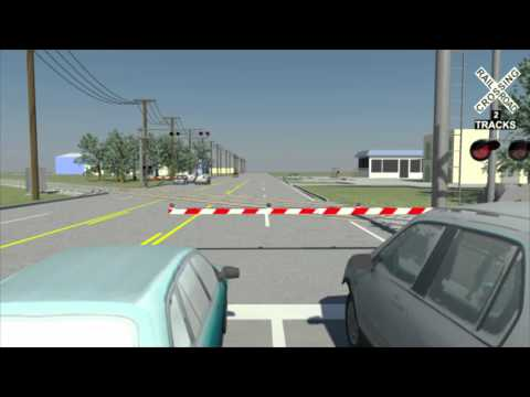 Railroad Crossing Accident Reconstruction Animation