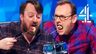 David Mitchell HATES the Fondue!!   8 Out Of 10 Cats Does Countdown Best Bits Pt. 7