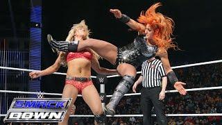 Becky Lynch vs. Charlotte – Divas Championtitel Match: SmackDown, 7. Januar 2016