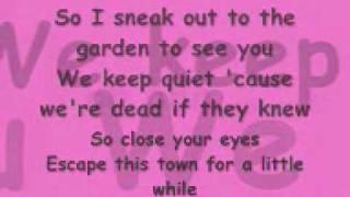 Love Story by Taylor Swift - Lyrics