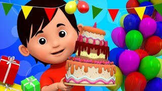 Birthday Song | Video For Toddlers | Kindergarten Nursery Rhymes For Babies | Song For Children