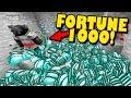 GIVING NOOB FORTUNE 1000 DIAMOND PICK! - Minecraft Trolling (Ep 165)