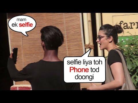Xxx Mp4 Shruti Hasan SHOUTS On A FAN For Touching While Taking A Selfie 3gp Sex