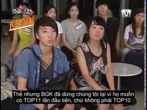 [Vietsub][SmileYOON] SuperStar K2 - Kang Seung Yoon cut (part1)