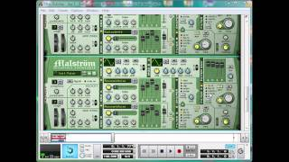 Dirty Dubstep tutorial Day 5 Pt2: Making a stringy synth