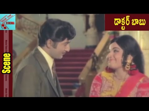 Shoban Babu Jayalalitha Funny Love Scene Doctor Babu Movie Shoban Babu Jayalalitha