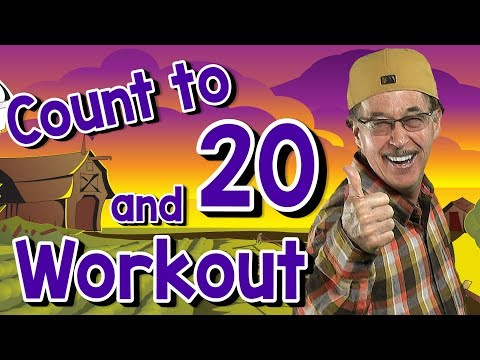 Count to 20 and Workout | Fun Counting Song for Kids | Count by 1's to 20 | Jack Hartmann