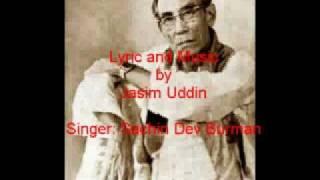 Nishithe Jaio Fulobone MUSIC & LYRIC JASIM UDDIN Singer Sachin Dev Burman, www.jasimuddin.org