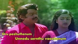 Mayanginen solla thayanginen WhatsApp status Tamil ❤️