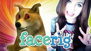 FACERIG #01 - Künstlerischer Kot im Park ● Let's Play FaceRig