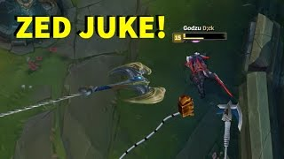 Unbelievable NEW ZED JUKES! + INSANE DAMAGE!  [ League of Legends ]