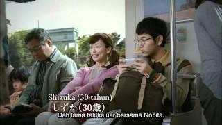 Toyota x Doraemon CM [Nobita 30years old & BBQ] Malay Sub