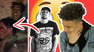 XXXTENTACION SLAPS ROB $TONE AT THE MALL FOR JUMPING SKI MASK! HE GOT HANDS!