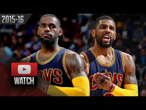 LeBron James & Kyrie Irving Full Highlights vs Pistons 2016 Playoffs R1G4 - (CAVS Feed)