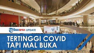 Kasus Corona Tertinggi di Jatim, Mal di Surabaya Tetap Buka, Khofifah: Itu Kewenangan Pemkot