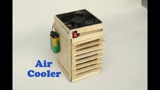 How To Make a Powerful Air Cooler at Home DIY