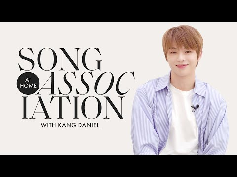 Kang Daniel Sings Harry Styles Alicia Keys and PARANOIA in a Game of Song Association ELLE