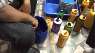 Pigment Print Paste Making
