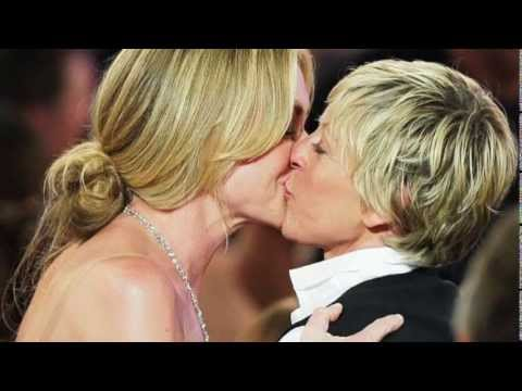 Ellen DeGeneres s kisses part 4 Portia de Rossi