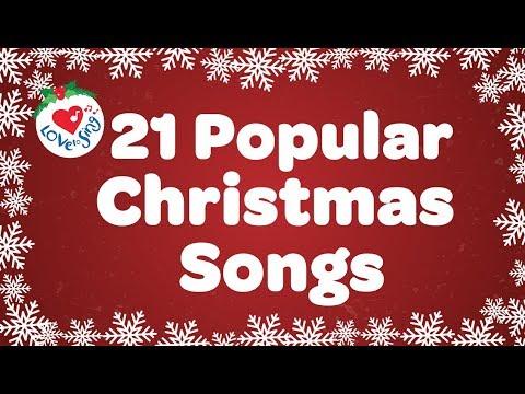 Top 21 Popular Christmas Songs and Carols Playlist 2016 🎅