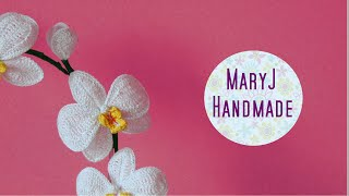 How to crochet an orchid | Part 1