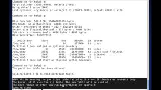 How to use fdisk command  in linux?