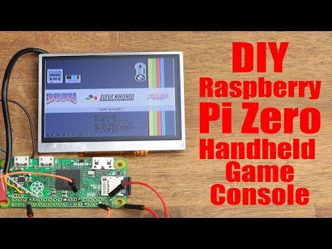 DIY Raspberry Pi Zero Handheld Game Console Part 1
