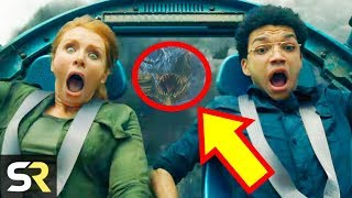 20 Jurassic World Fallen Kingdom Easter Eggs You Totally Missed