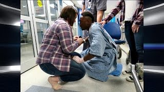 Man Proposes to Girlfriend after Surviving Horrific Car Accident