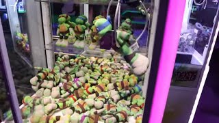 I Won From EVERY Claw Machine!