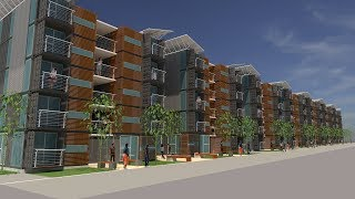 Container Housing Apartment Concept