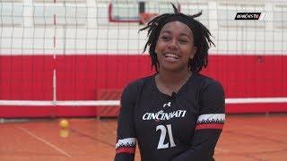 Cincinnati Volleyball: Meet Jasmine Jones